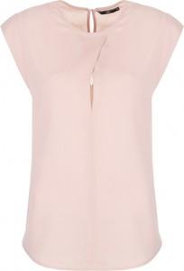 Bluzka Nife bez rękawów z okrągłym dekoltem