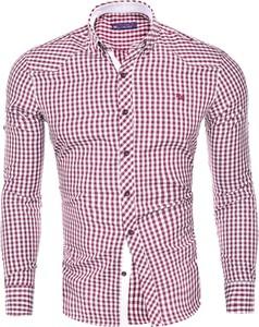Koszula Risardi z kołnierzykiem button down w młodzieżowym stylu