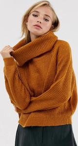 Pomarańczowy sweter Brave Soul