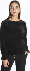 Czarna bluzka Gate z długim rękawem