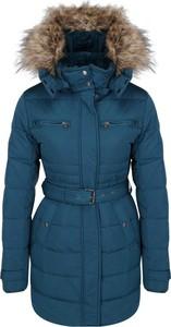 Niebieski płaszcz Pepe Jeans