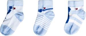 Niebieskie skarpetki Tommy Hilfiger dla dziewczynek