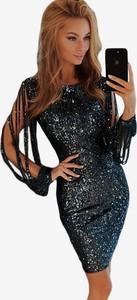 Granatowa sukienka DAFNIS