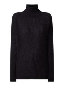 Granatowy sweter Drykorn z wełny