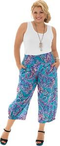 Spodnie Aller Simplement z nadrukiem z bawełny w stylu boho