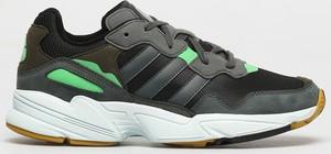 Czarne buty sportowe Adidas Originals sznurowane