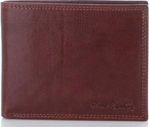 Czerwony portfel męski Pierre Cardin