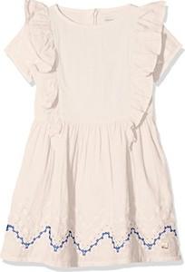 Różowa sukienka dziewczęca Carrèment Beau