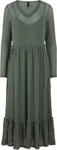Sukienka Y.A.S w stylu casual z długim rękawem z okrągłym dekoltem