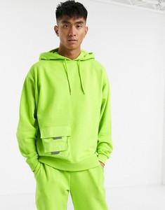 Zielona bluza Asos z tkaniny