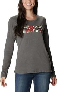T-shirt Columbia z okrągłym dekoltem