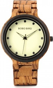 Czarny zegarek geekthink