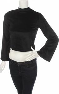 Czarna bluzka Zuiki z długim rękawem