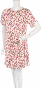 Sukienka Wednesday`s w stylu casual z okrągłym dekoltem mini