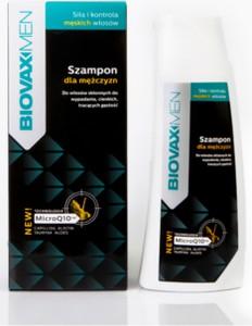 L'Biotica BIOVAXMEN Szampon dla mężczyzn przeciw wypadaniu włosów - 200 ml