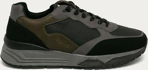 Buty sportowe S.Oliver sznurowane ze skóry ekologicznej