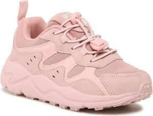 Różowe buty sportowe dziecięce Sprandi sznurowane