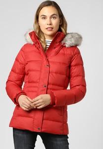 Czerwony płaszcz Tommy Hilfiger