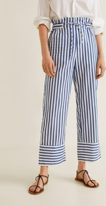 Niebieskie spodnie Mango