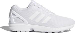 Buty sportowe Adidas sznurowane zx flux w sportowym stylu