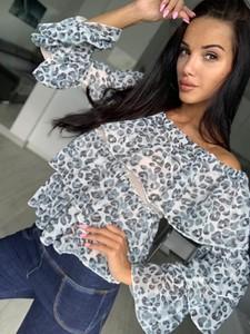 Bluzka Yasmin Boutique z długim rękawem hiszpanka