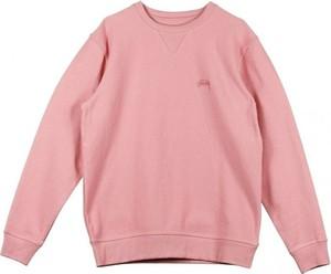 Różowa bluza Stussy w stylu casual