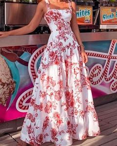 Sukienka Kendallme maxi bez rękawów z szyfonu