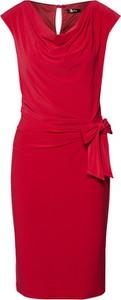 Sukienka Vera Mont z dekoltem w kształcie litery v midi