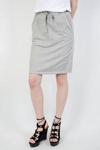 Spódnica Olika midi w stylu casual z dresówki