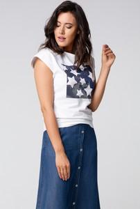 T-shirt redifashion_com z bawełny
