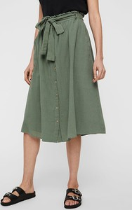 Spódnica Vero Moda z bawełny