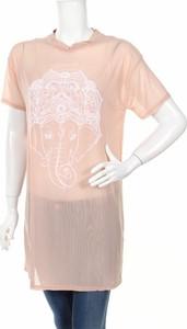 Różowa tunika Missguided