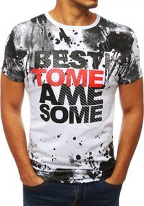 T-shirt Dstreet z krótkim rękawem z nadrukiem