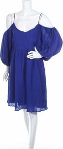 Sukienka Moulinette Soeurs z odkrytymi ramionami mini