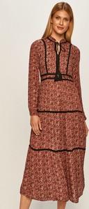 Sukienka Vero Moda maxi z tkaniny