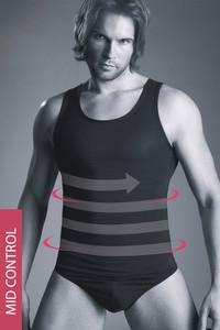 Mitex męski modelujący podkoszulek body perfect 180 czarny