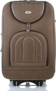 Brązowa walizka Merg
