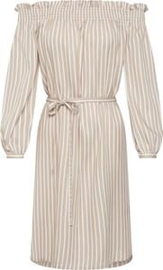 Sukienka Only z długim rękawem w stylu casual midi