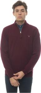 Czerwony sweter Gant z wełny