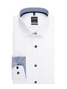 Koszula Olymp z długim rękawem z bawełny