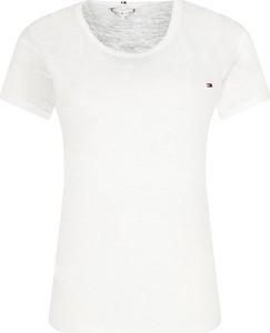 T-shirt Tommy Hilfiger w stylu casual z krótkim rękawem z okrągłym dekoltem