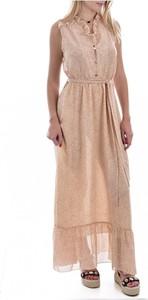 Sukienka MOLLY BRACKEN maxi z dekoltem w kształcie litery v