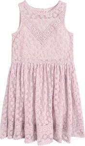 Różowa sukienka dziewczęca Cool Club z bawełny