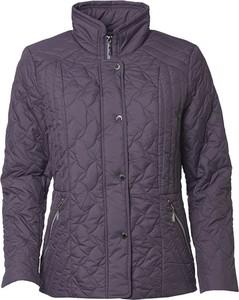 Fioletowa kurtka Danwear z polaru w stylu casual
