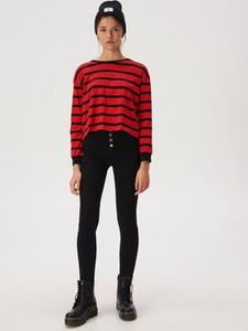 Czarne jeansy Sinsay w stylu casual