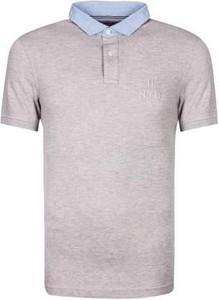 Koszulka polo Tommy Hilfiger z krótkim rękawem z bawełny w stylu casual