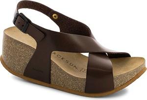 Sandały Backsun z klamrami w stylu casual