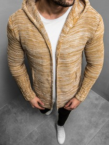 Brązowy sweter Ozonee