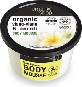 Organic Shop, Organic Ylang-Ylang & Neroli Body Mousse, mus do ciała, Balijskie Kwiaty, 250 ml