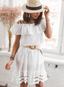 Sukienka SELFIEROOM z krótkim rękawem